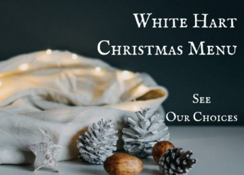 Christmas Menu 2019, The White Hart Inn, Trudoxhill, Frome