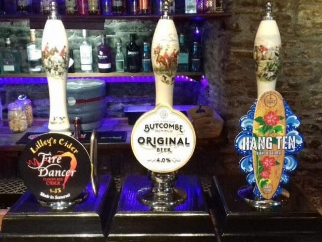 White Hart Inn at Trudoxhill, Near Frome, Traditional beers