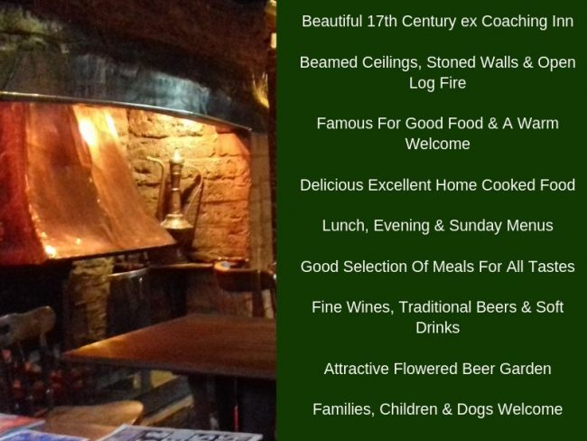 White Hart Inn at Trudoxhill, Near Frome, Traditional 17th century pub famous for good food, good bear and good company