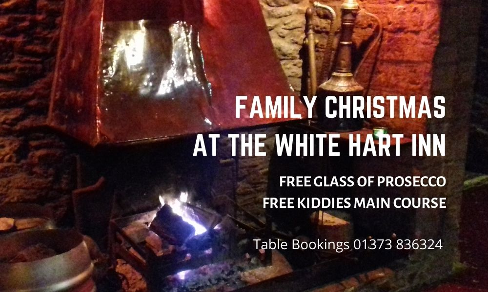 Christmas Menu 2020, The White Hart Inn, Trudoxhill, Frome, famous for good home cooked food and fine drinks