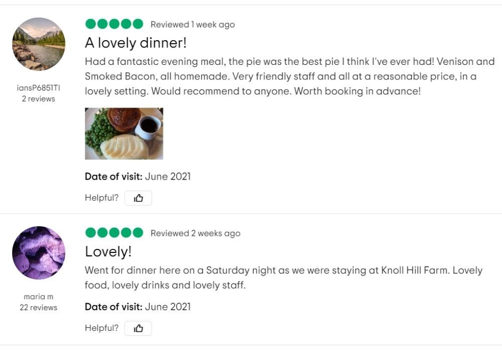 Tripadvisor review from June 2021 for The White Hart Inn, Trudoxhill, Frome. Delicious pub food, Sunday roasts and fine beer and other drinks.
